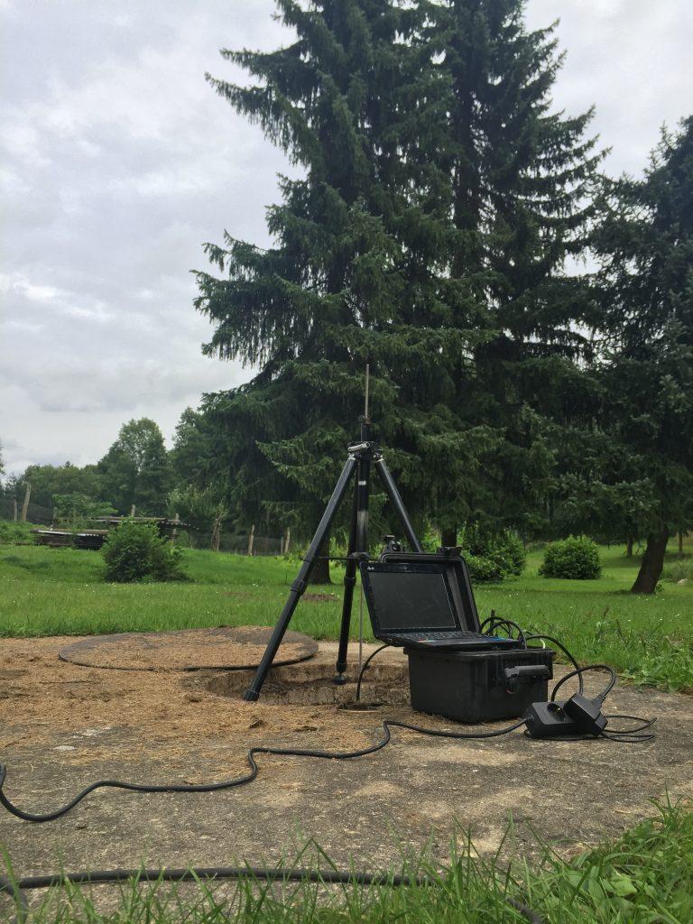 Dichtheitspruefung- Brandenburg- Abwassersammelgrube-Betonringe
